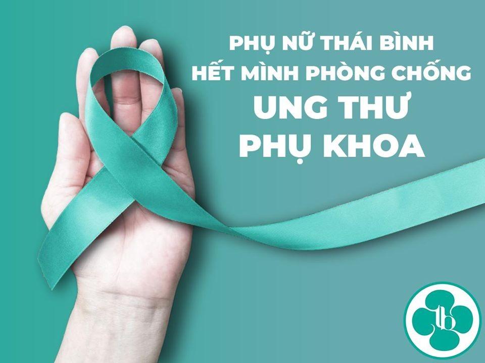 Phụ nữ Thái Bình hết mình phòng chống ung thư phụ khoa
