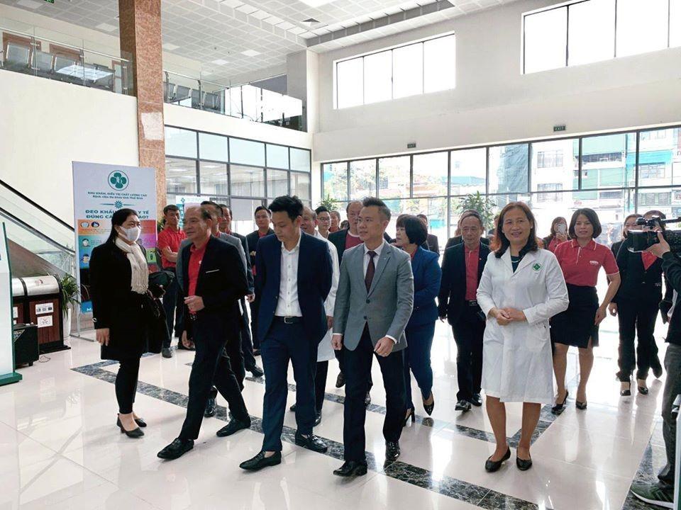 TBH đón đoàn khách từ Công ty Bảo hiểm Nhân thọ Dai-Ichi chi nhánh Thái Bình