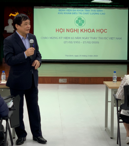HỘI NGHỊ KHOA HỌC Chào mừng 65 năm ngày thầy thuốc Việt Nam