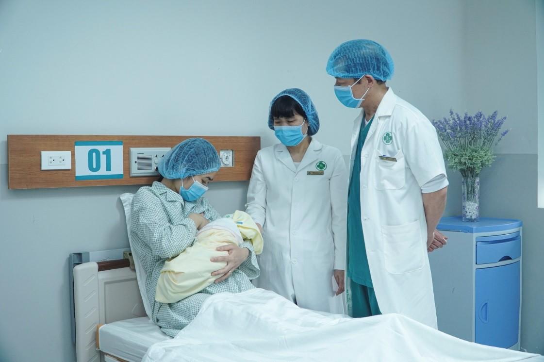 Sinh đẻ mùa dịch tại Bệnh viện Thái Bình